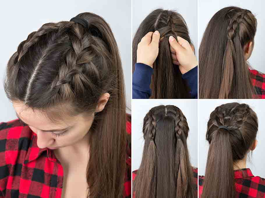Step By Step Hair Tutorials For Long And Medium Hair