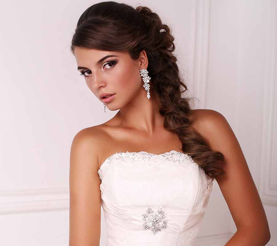 Wedding Side Braid