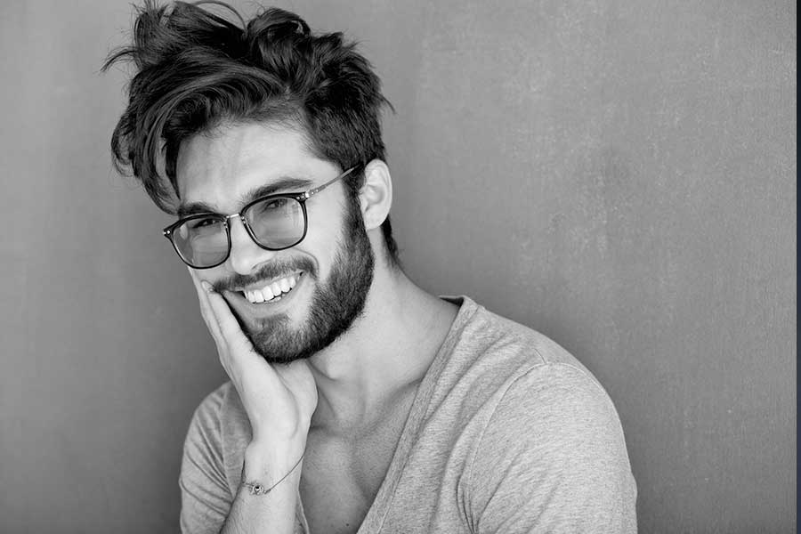 Messy Mens Hairstyle